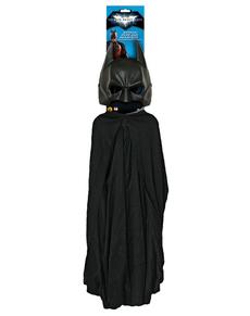 Batman Set für Erwachsenen Umhang und Maske