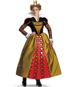 Tim Burton Herzkönigin Kostüm