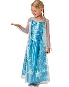 Kostüm Elsa Frozen Eiskönigin für Mädchen