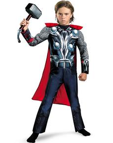 Thor Kinderkostüm mit Muskeln für Junge Classic